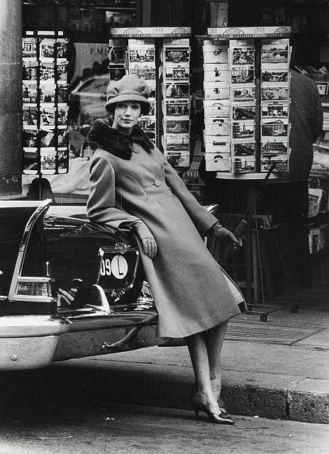Willy RONIS (1910 - 2009) Mode pour Vogue - 7 août 1958 Epreuve argentique (c. 1970)
