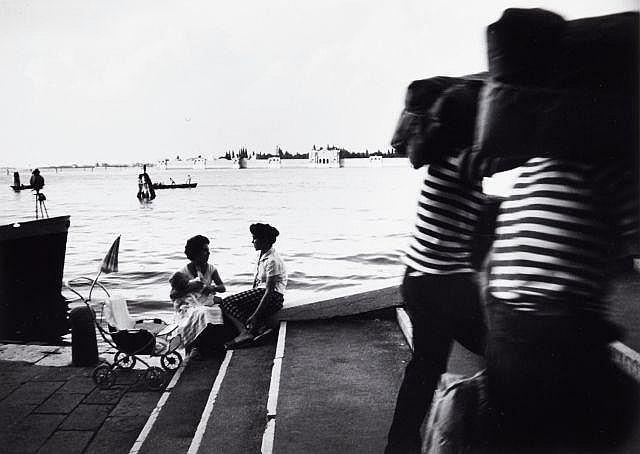 Willy RONIS (1910 - 2009) Venise Quatre (4) épreuves argentiques (c. 1990)