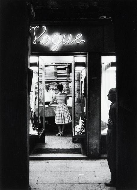 Willy RONIS (1910 - 2009) Venise - Vogue, 1959 Epreuve argentique (c. 1990)