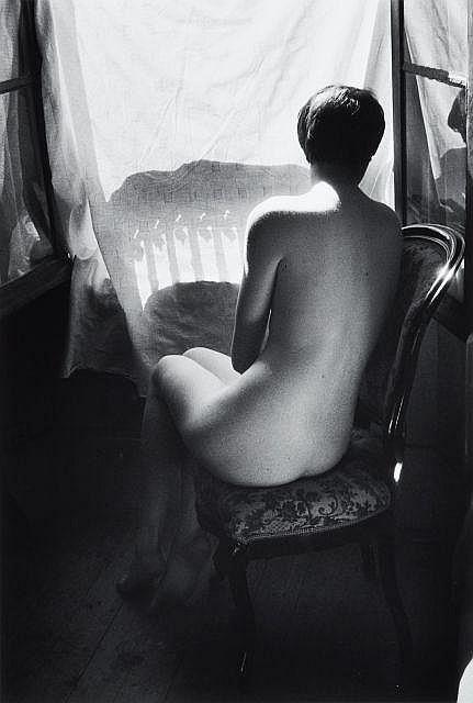 Willy RONIS (1910 - 2009) Deena de dos - Sceaux, 1955 Epreuve argentique (c. 1990)