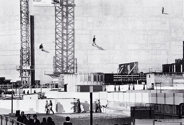 Willy RONIS (1910 - 2009) Etude d''architecture Quatre (4) épreuves argentiques (c. 1990)