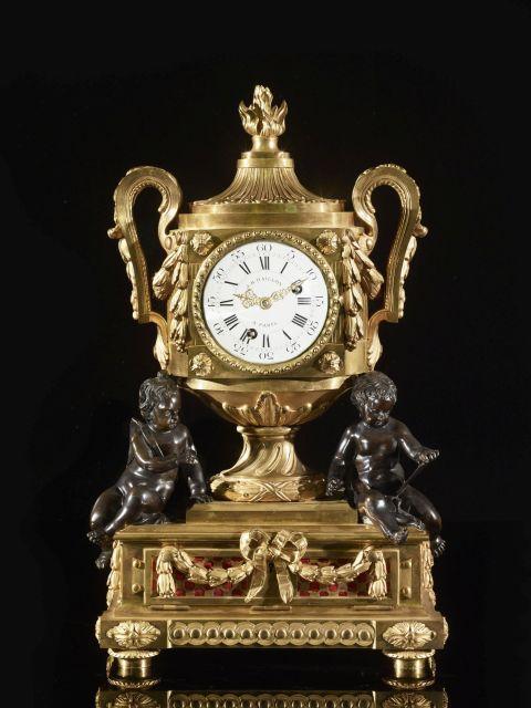 ¤ PENDULE À MUSIQUE D''ÉPOQUE LOUIS XVI Attribuée à Robert Osmond (1711-1789)