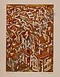 Arpad SZENES (1897-1985) EVORA, circa 1980 Lithographie en couleurs sur japon Nacré, épreuve s..., Szenes Arpad, Click for value