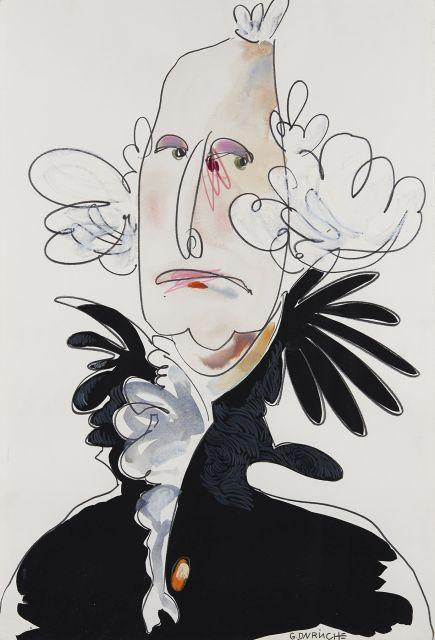 Gaël DAVRINCHE né en 1971 GEORGE WASHINGTON