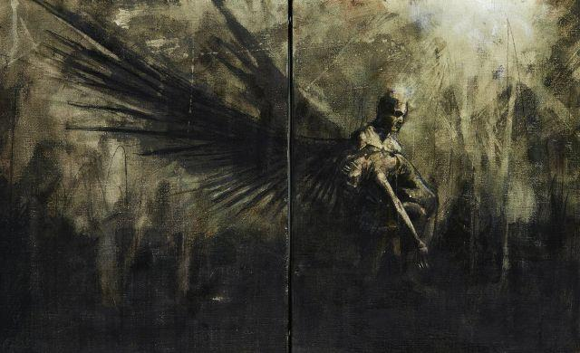 Guy DENNING né en 1965 BROKEN ANGEL, 2016