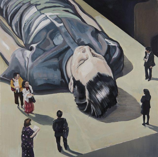Olivier POIZAC né en 1967 L''OBSERVATOIRE [il n''y a pas de héros sans auditoire : André Malraux], 2015