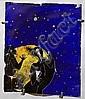 Philippe FAVIER (né en 1957) SANS TITRE, 1987 Technique mixte sur verre, Philippe Favier, Click for value