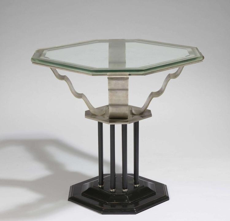 pierre paul montagnac 1883 1961 gueridon. Black Bedroom Furniture Sets. Home Design Ideas