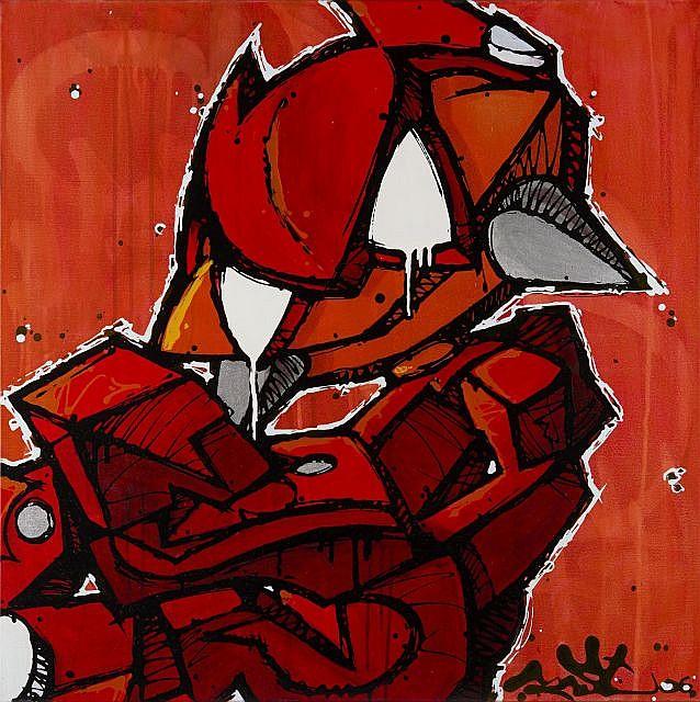 MIST Né en 1972 SANS TITRE - 2006 Acrylique sur toile