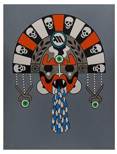 HONET (HNT) Né en 1972 OMONOIA - 2006 Acrylique sur toile