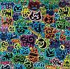 CHANOIR Né en 1976 CHA DENUIT - 2014 Peinture aérosol et acrylique sur toile,  Chanoir, Click for value
