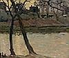 Alexandre ALTMANN 1885 - 1932 BORD DE RIVIERE Huile sur toile, Alexandre (1885) Altmann, Click for value