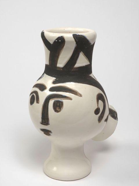 Pablo PICASSO 1881 - 1973 Chouette femme- 1951 (A.R # 119) Vase tourné