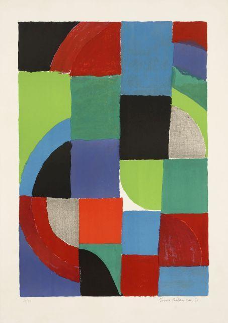 Sonia DELAUNAY 1885 - 1979 Printemps - 1971