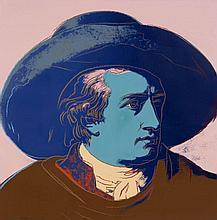 Andy WARHOL (1928 - 1987) Goethe - 1982