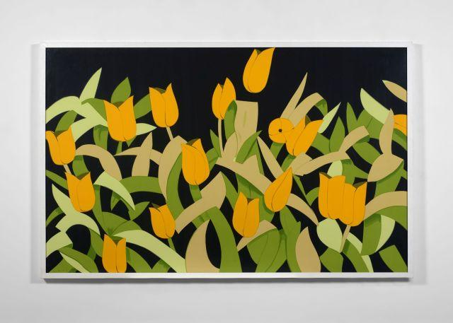 Alex KATZ (né en 1927) Yellow Tulips - 2014