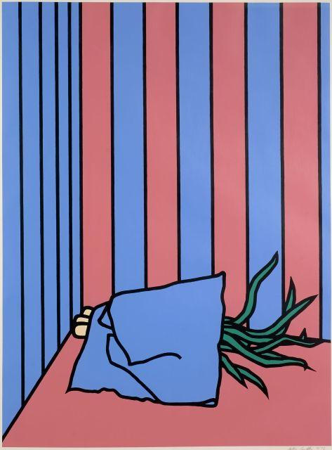 Patrick CAULFIELD 1936 - 2005 Napkin and Onions - 1972
