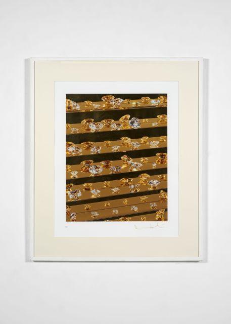 Damien HIRST (né en 1965) Gold tears - 2012
