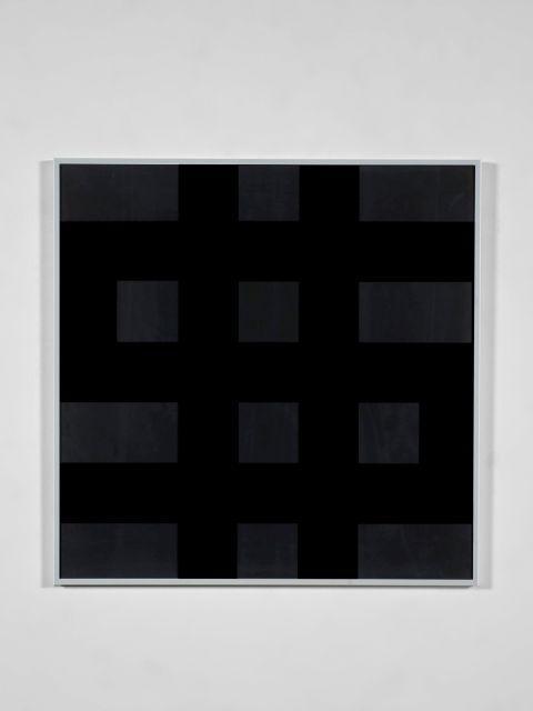 Olivier MOSSET (Né en 1944) Dollar (noir) - 1998