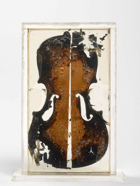 ARMAN (1928 - 2005) Last violin