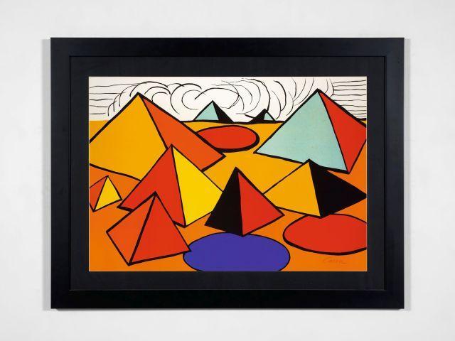 Alexander CALDER 1898 - 1976 Pyramides - circa 1968