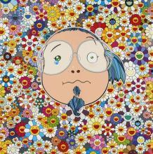 Takashi MURAKAMI (né en 1962) Kansei platinium - 2008