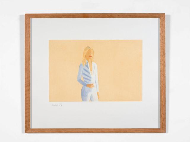 ¤ Alex KATZ (né en 1927) Sissel - 2012