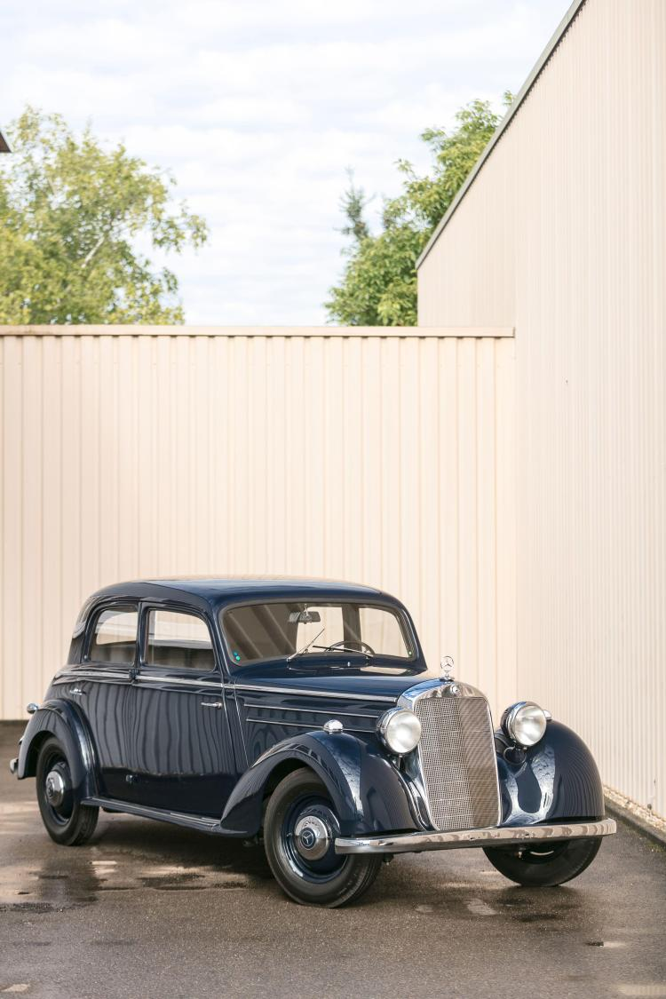 1953 mercedes benz 170 ds saloon no reserve for Mercedes benz 170 ds for sale