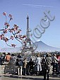 Alain BUBLEX  Paysage 29 (Cherry Blossom Eiffel 1), 2007, Alain Bublex, Click for value