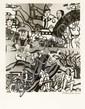 [Fernand LEGER] Robert DOISNEAU  Fernand Léger dans son atelier. 1954