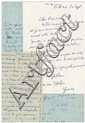 [DIVERS PEINTRES] Jean-Michel ATLAN, Henri MARTIN, André PLANSON  3 l.a.s.