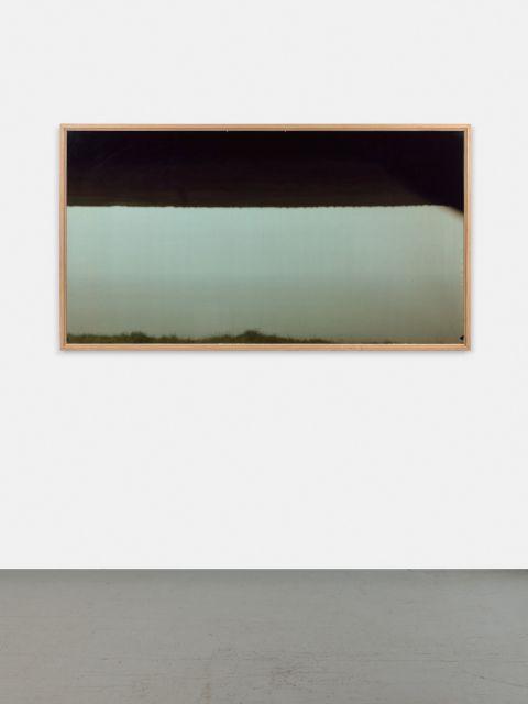 Gabor OSZ (Né en 1962) THE LIQUID HORIZON N°8 FECAMP 31.05.2000 - 2000 Tirage chromogénique, camera obscura avec temps d''exposition...