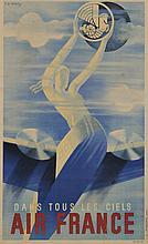 Roger de VALERIO (1886-1951)  Dans tous les ciels