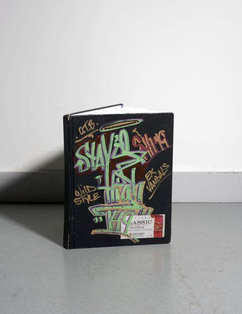 STAY HIGH 149 (Wayne Roberts dit) 1950 - 2012 SANS TITRE Black book comprenant 23 dessins, études et esquisses réalisées à la peintu...