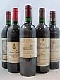 11 bouteilles 1 bt : CHÂTEAU RAUZAN GASSIES 1986 2è GC Margaux (étiquette fanée)