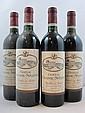 5 bouteilles 2 bts : CHÂTEAU CHASSE SPLEEN 1995 CB Moulis (étiquettes sales)