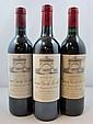 10 bouteilles 2 bts : CHÂTEAU LEOVILLE LAS CASES 1992 2è GC Saint Julien (étiquettes fanées et déchirées)