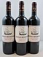 6 bouteilles CHÂTEAU BEYCHEVELLE 2008 4è GC Saint Julien (une étiquette léger déchirée)