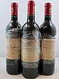 3 bouteilles CHÂTEAU BRANAIRE DUCRU 2001 4è GC Saint Julien