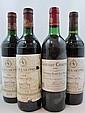 11 bouteilles 2 bts : CHÂTEAU LASCOMBES 1983 2è GC Margaux (étiquettes sales)
