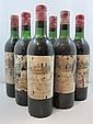 6 bouteilles CHÂTEAU AUSONE 1964 1er GCC (A) Saint Emilion (6 haute épaule)