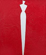 Aki KURODA (né en 1944) SANS TITRE Acrylique sur toile