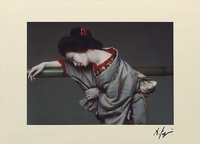 Hideki FUJI Né en 1934 UNTITLED C - 1980 Tirage couleur d'époque