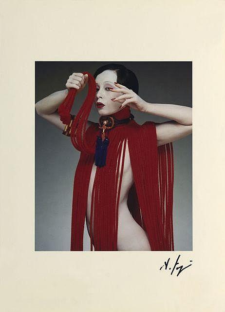 Hideki FUJI Né en 1934 UNTITLED B - 1980 Tirage couleur d'époque