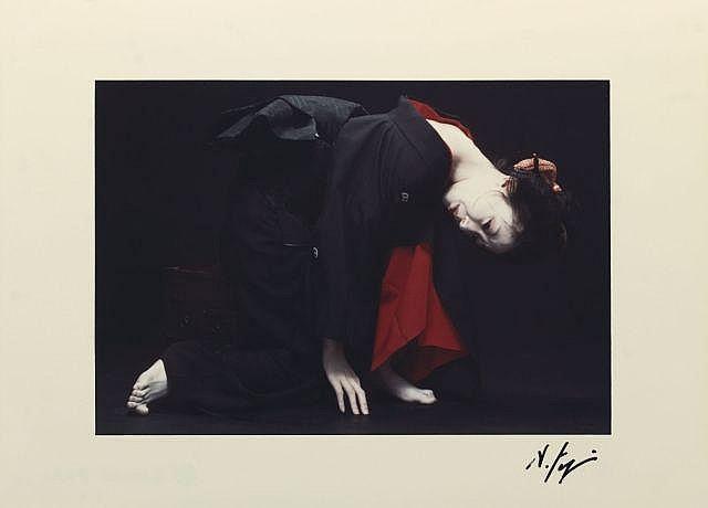 Hideki FUJI Né en 1934 UNTITLED D - 1980 Tirage couleur d'époque