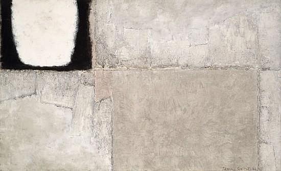 James GUITET (né en 1925) 80 M.9.66, 1966 Huile sur toile