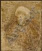 Carlo GUARIENTI (Né en 1923) PORTRAIT DE JEAN LEYMARIE, 2000 Huile sur toile contrecollée sur carton toilé, Carlo Guarienti, Click for value