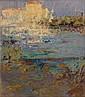 Gustave LOISEAU (Paris, 1865- Paris, 1935) LES MARTIGUES, circa 1913 Huile sur toile