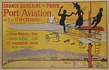 GRANDE QUINZAINE DE PARIS PORT-AVIATION 1909