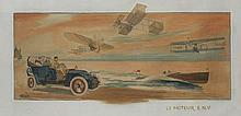 GAMY (Présumé Marguerite Montaut)  Le moteur E.N.V
